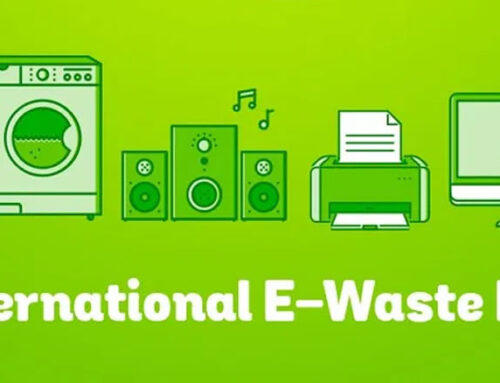 October 14th is International E-waste Day.